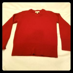 Authentic Burberry 100% cashmere pullover sweater